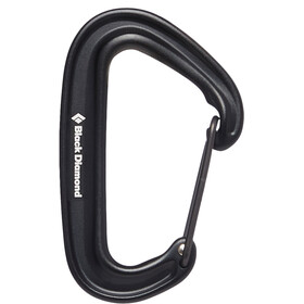 Black Diamond Miniwire Moschettone, black